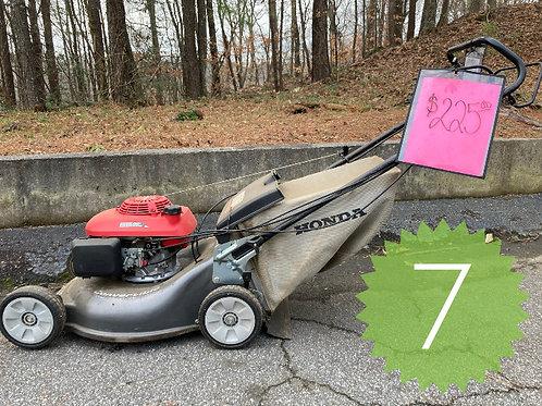 Honda Self Propelled, Rear Wheel Drive w/Bag
