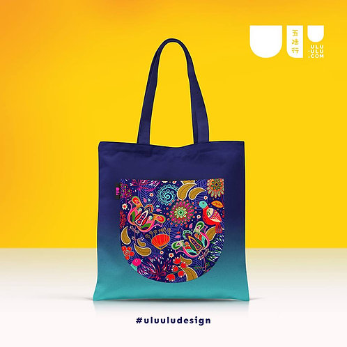 Batik Graphic Tote Bag