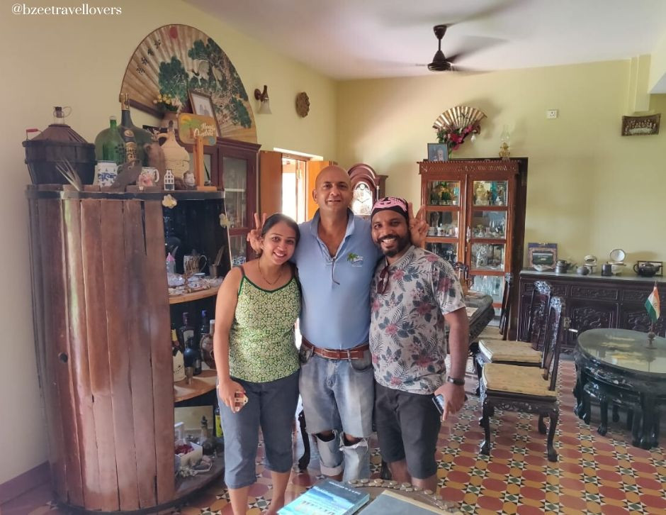 Homestay in Divar Island Goa