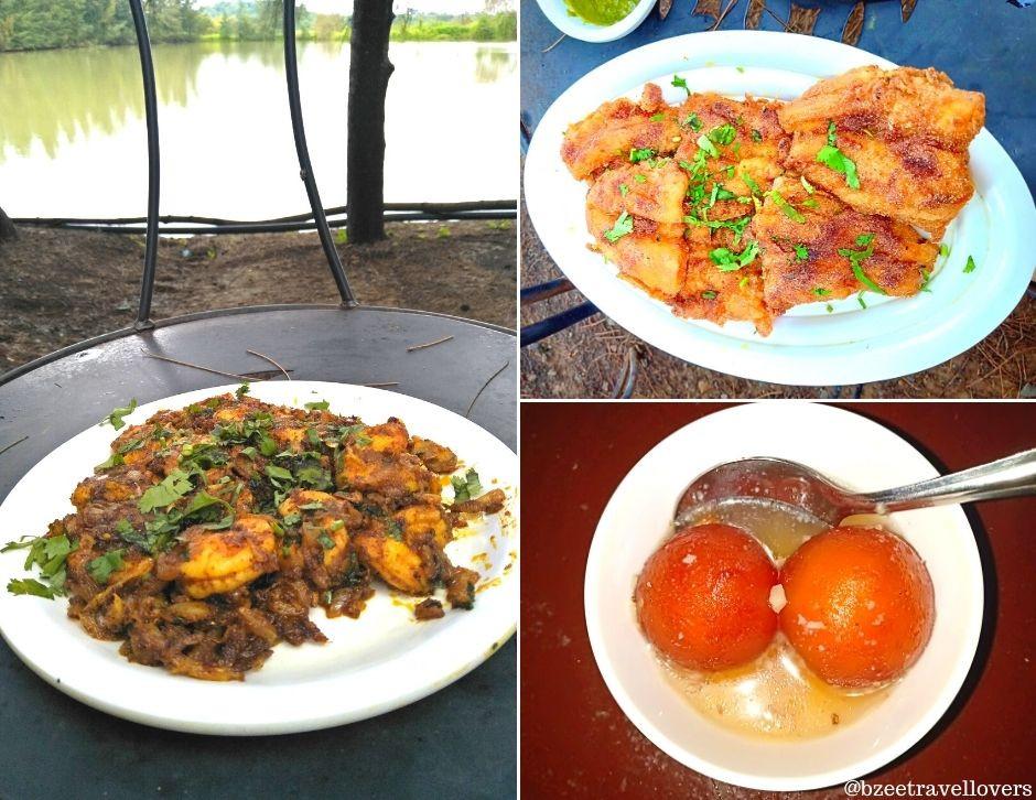 Food at the Fisherman Village Palghar
