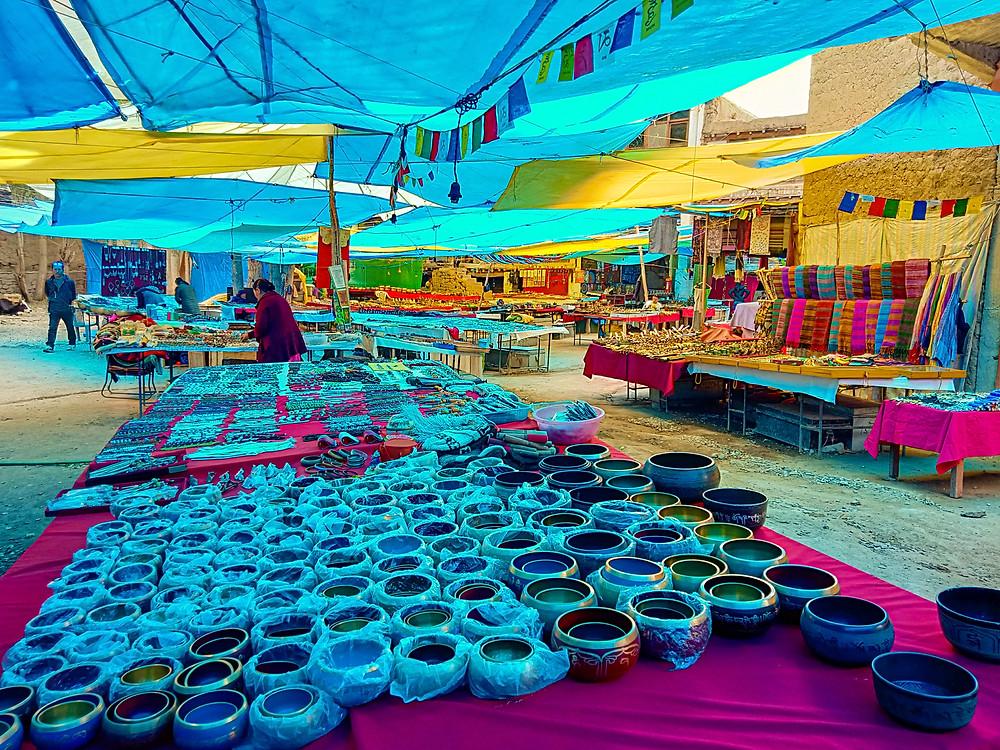 Leh Tibetan market