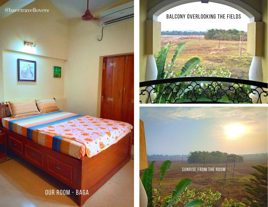 Baga Room - Moradia Dos Quadros Divar Island Goa
