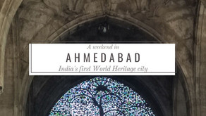 A weekend in India's first World Heritage city: Ahmedabad (Under 5k)
