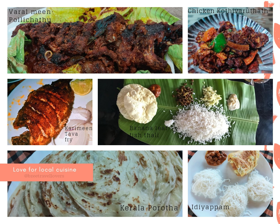 Food in Alleppey