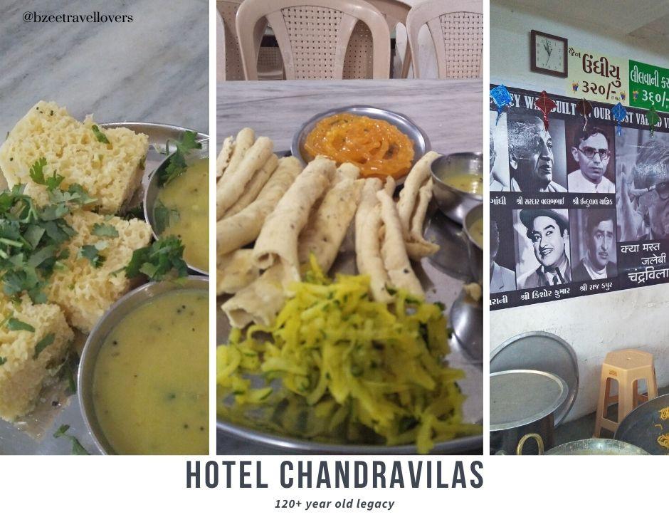 Chandravila restaurant Ahmedabad heritage walk
