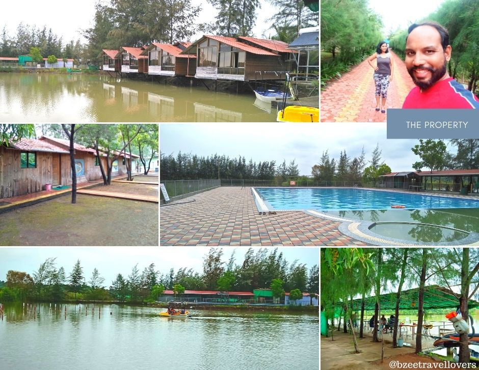 Various pictures of the fisherman village property in kelve palghar