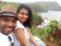 Cliff views at Cabo De Rama Fort