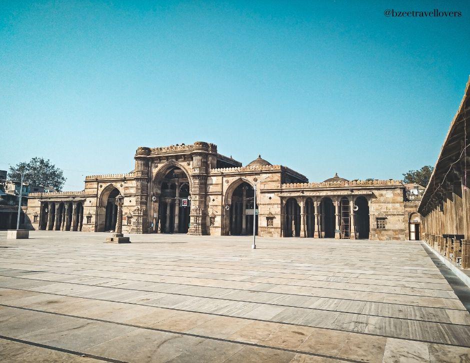 Jumma Mosque Ahmedabad Heritage walk