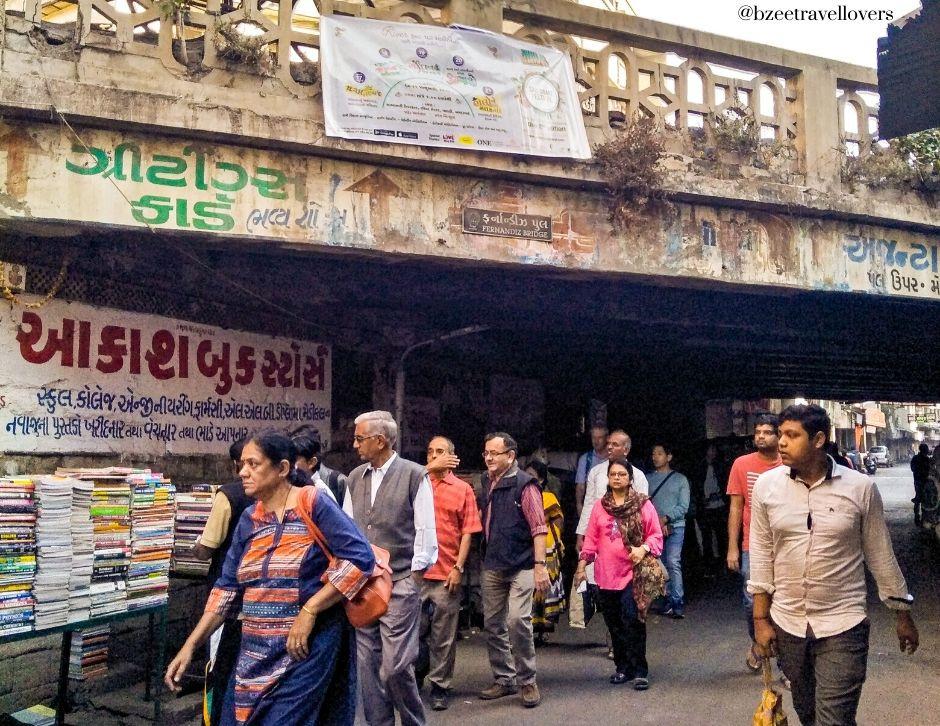 Fernandes Bridge Ahmedabad, Heritage walk