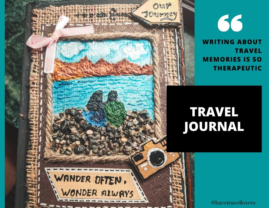 How to make a Travel Journal DIY