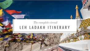 The complete Leh-Ladakh circuit Itinerary