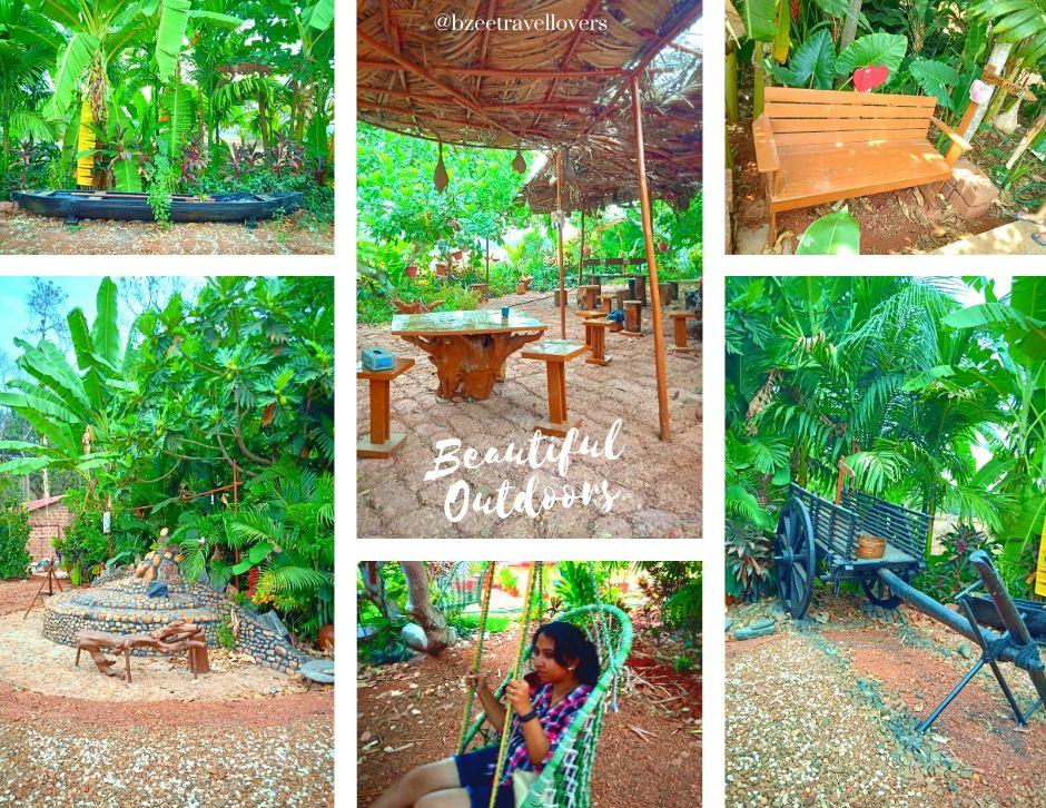Outdoor spaces - Moradia Dos Quadros Divar Island Goa