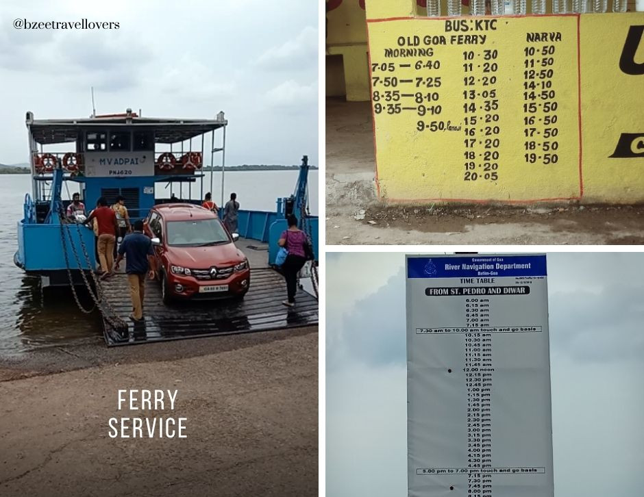 Ferry Crossings Divar Island Goa