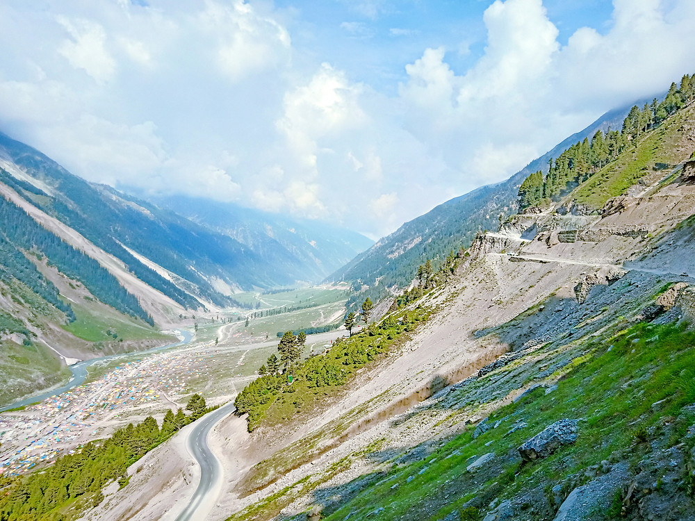 Srinagar to Leh highway