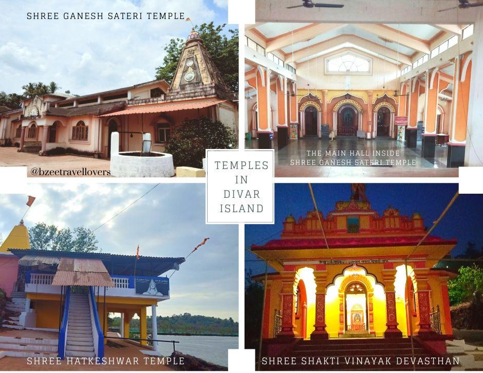 Temples in Divar Island