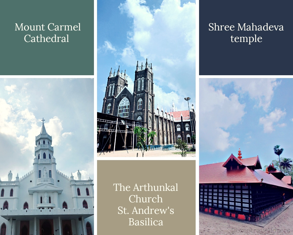 Architecture in Alleppey