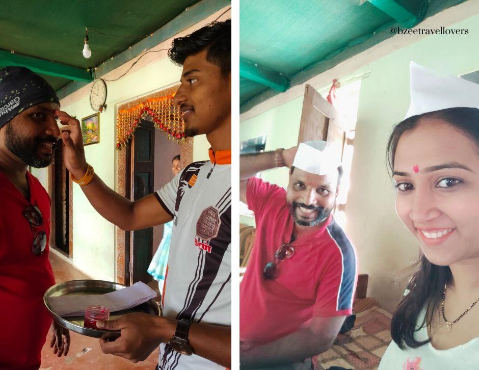 Maharashtra culture traditional welcome