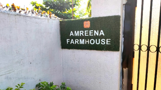 Amreena farmhouse