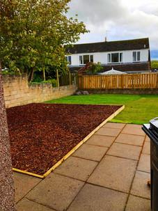 New garden layout