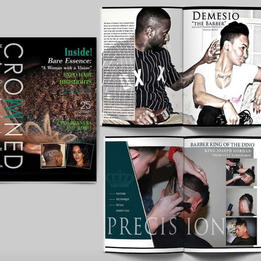 Crowned Magazine Design