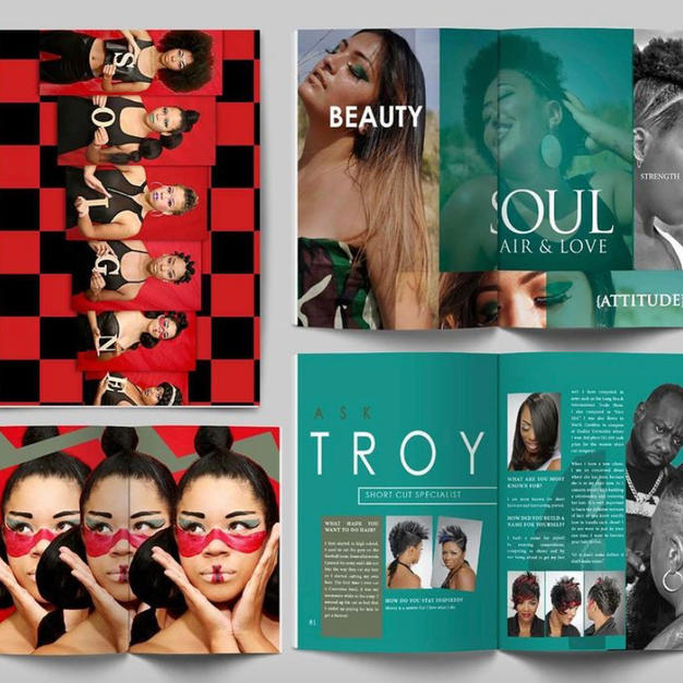 Soigne Magazine Design vol 2