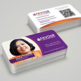 Favour Consulting Biz Card