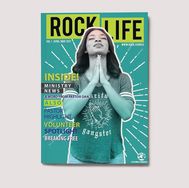 Rock Church Magazine Cover