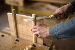 Carpenter bois de coupe