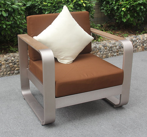 Curl Outdoor sofa single seater Made-To-Order 波紋戶外梳化單座位訂製