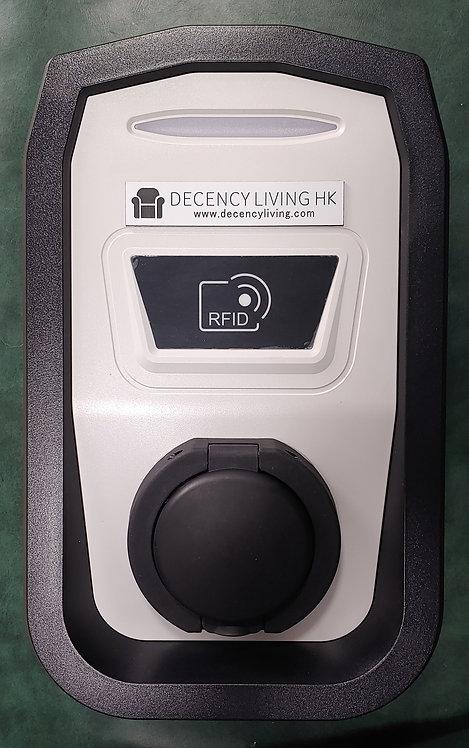 22KW EVSE RFID card actuated掛牆中速充電器拍卡啟動