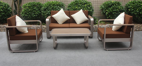 Curl Outdoor set of 4 pieces Made-To-Order 波紋戶外梳化4件套裝