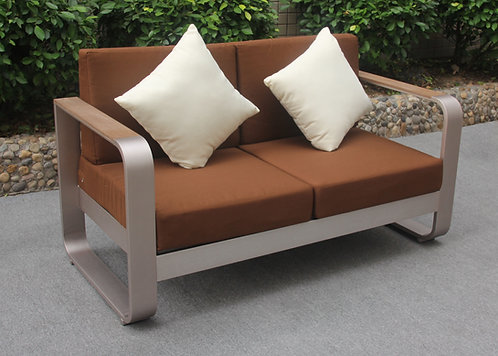 Curl Outdoor sofa love seat Made-To-Order 波紋戶外梳化雙座位訂製