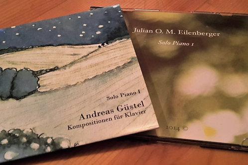 Beide CDs! - Solo Piano I von Julian Eilenberger & Andreas Güstel
