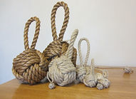 Monkey's fist knot collection.JPG