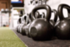 Kettlebells at The Rack