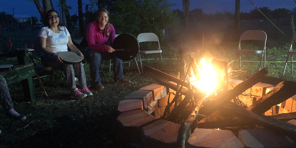 Winter Campfire Drum Circle February