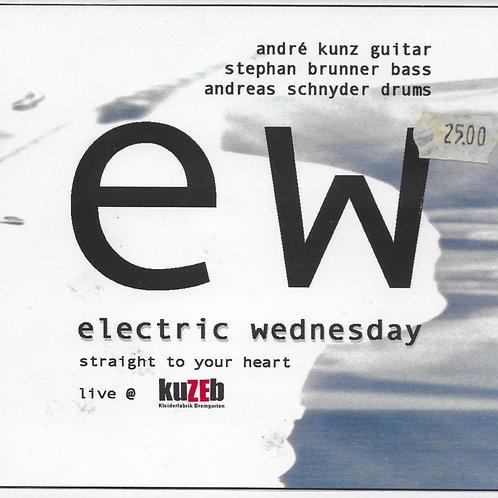 André Kunz Trio electric wednesday