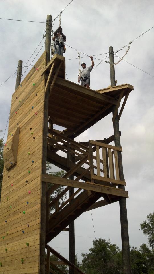 Climbing Wall/Zip Line