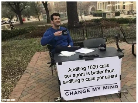 Audit 3 Calls per Month or 1000 Calls per Month?