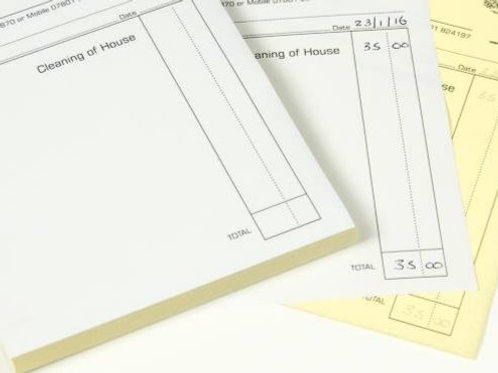 3 Part NCR Pads