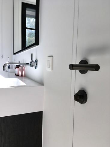 Door handle solid barrel & thumb turn Vintage Patina - Project Wendy Verstrepen