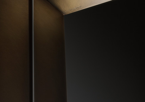 Frame Orbitale DeLabré Brass - Design Antonella Tesei