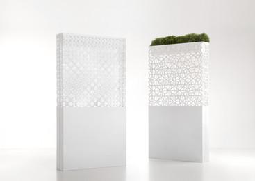 Dafne & Demetra Laquered RAL9010 - Design Ludovica+Roberto Palomba