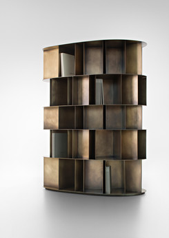 Existence Orbitale DeLabré Brass - Design Michele De Lucchi