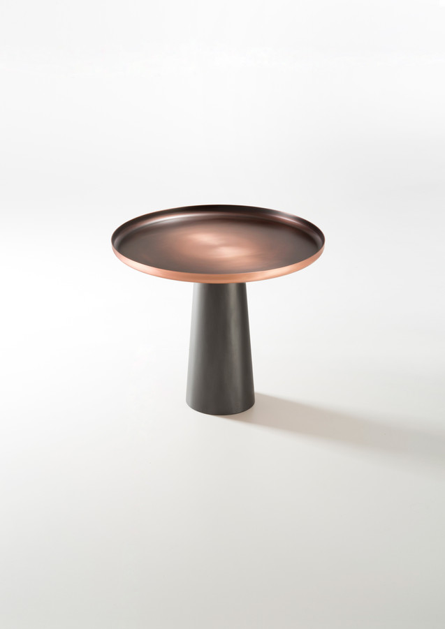 Sunrise & sunset Copper base is DeLabré Iron - Design Artefatto