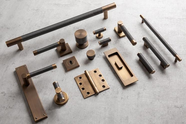 Wire collection Alupewt & Fine Antique Brass