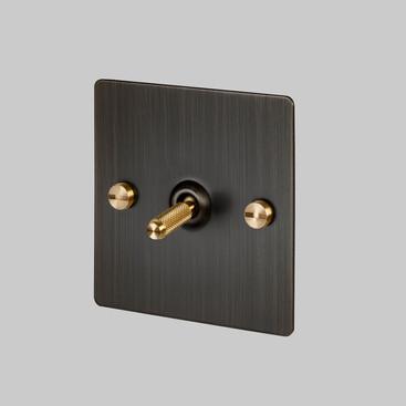 Toggle Smoked Bronze Brass