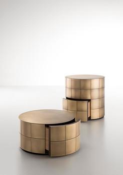 Pandora Orbitale Delabré Brass - Design Martinelli Venezi