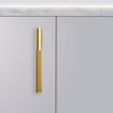 L bar linear Brass