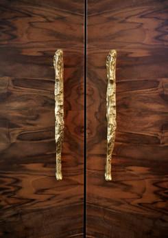Kesya earth Polished Brass